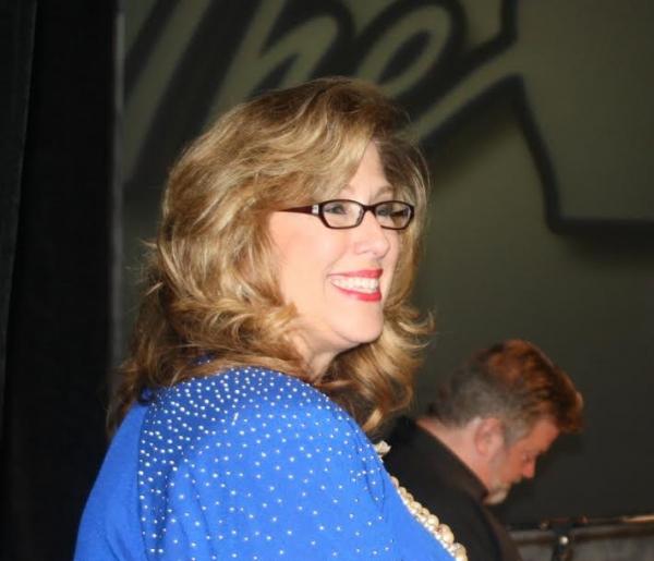 Emcee Sue Serio of FOX-TV Photo