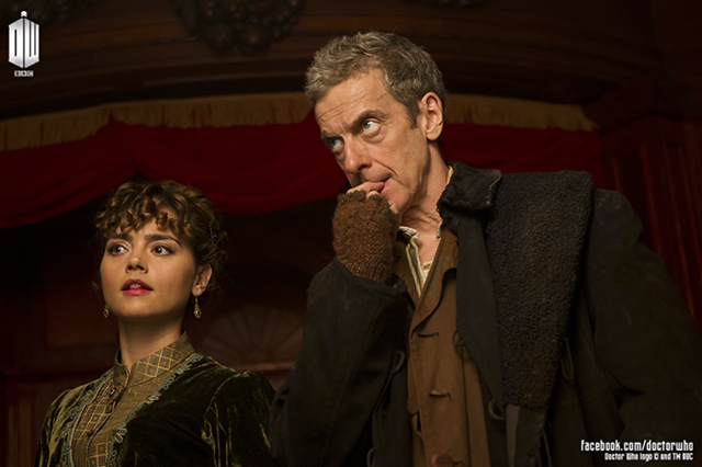 Photo: First Look - BBC's DOCTOR WHO Season 8 Heading to Victorian Era?