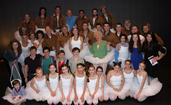 Photo Flash: BILLY ELLIOT Ogunquit Playhouse and Broadway Casts Unite