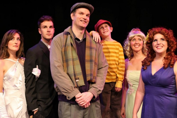 Morgan Glynn Briggs as Josephine, Taylor Okey as Will Bloom, Edward J. MacLennan as Edward Bloom, Landon Barnickel as Young Will, Aimee Erickson Langenfield as Jenny Hill and Marisa Boynton as Sandra Bloom