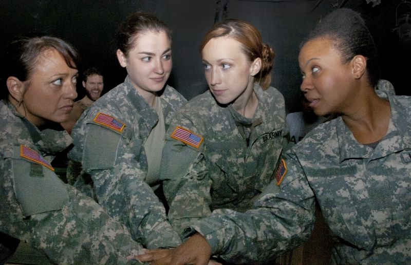 Photo Flash: Meet the Cast of NYMF's DEPLOYED, Starring Natalie Toro and More