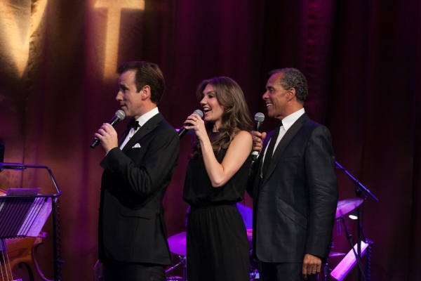 Lance Ellington & Anton Du Beke & Summer Strallen Photo