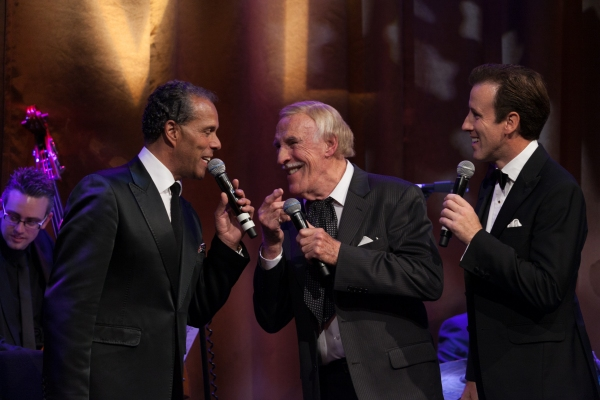 Lance Ellington Bruce Forsyth Anton Du Beke Photo