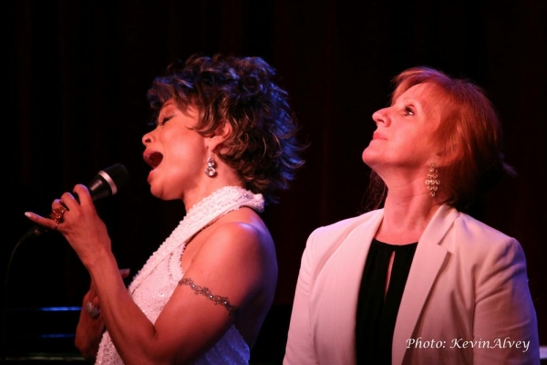 Valarie Pettiford and Terri Klausner