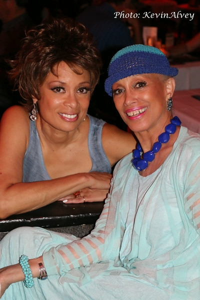 Valarie Pettiford and Mercedes Ellington