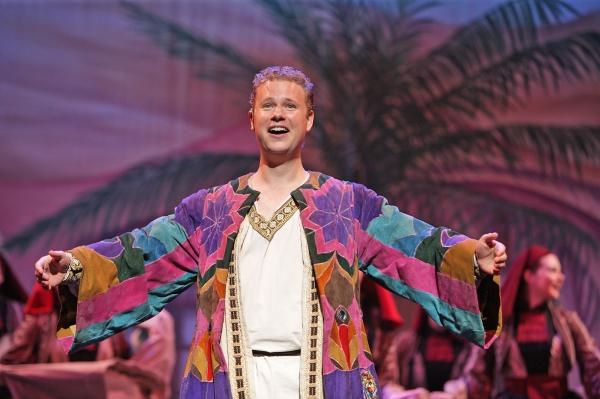 Joseph (Ian Patrick Gibb) loves his coat of many colors. Photo