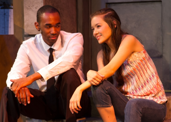 Charles McCoy as Benny and Julia Cassandra Smith as Nina