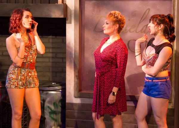 Chelsea Baldree as Vanessa, Sonja Taylor as Daniela and Angeline Mirenda as Carla