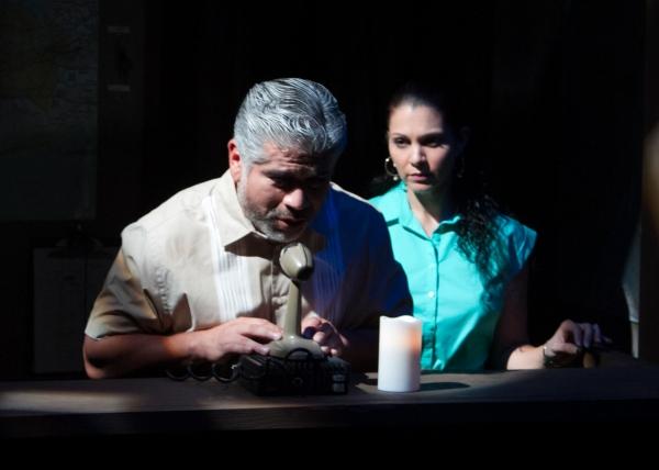 Tony Sanchez as Kevin and Rachel Oliveros Catalano as Camila