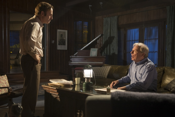 Bob Odenkirk as Saul Goodman, Michael McKean as Chuck