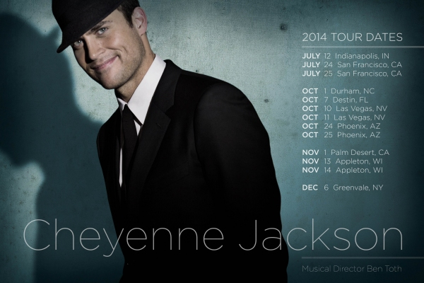 Photo Flash: New Promo Image Revealed for Cheyenne Jackson on Tour