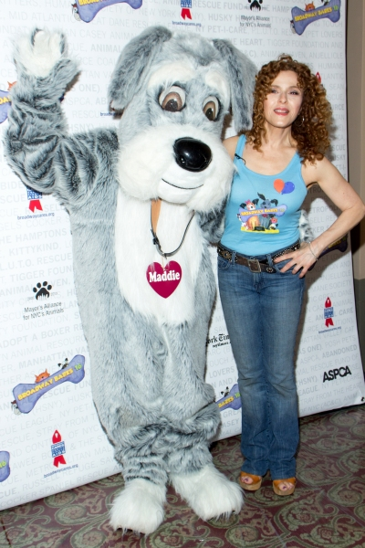 Maddie and Bernadette Peters