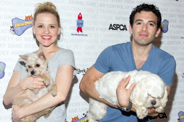 Photo Coverage: The Stars Arrive at Broadway Barks 16, Part One