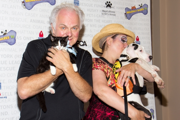 Photo Coverage: The Stars Arrive at Broadway Barks 16, Part Two