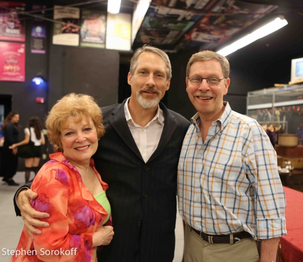 Photo Coverage: Anita Gillette Visits Penny Fuller at A LITTLE NIGHT MUSIC
