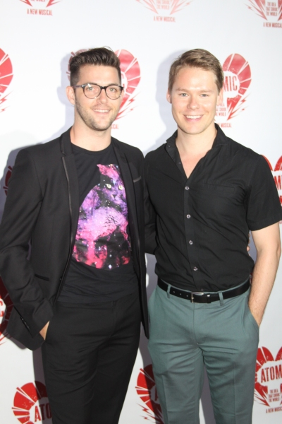 Nick McGough and Randy Harrison