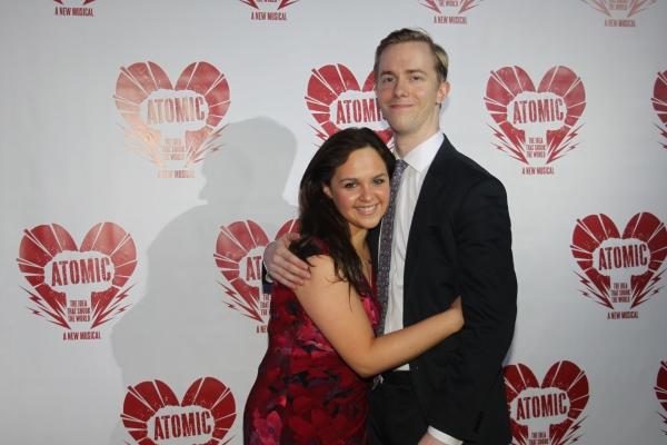 Angie Perez and David James Larson
