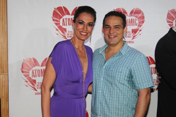 Sara Gettelfinger and Ruben Flores