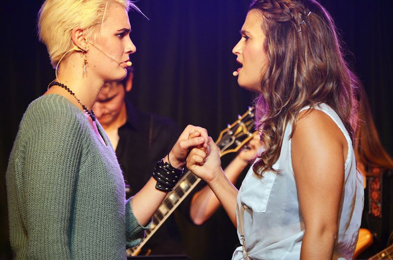 BWW Reviews: JAGGED LITTLE PILL IN CONCERT Triumphs at Rockwell