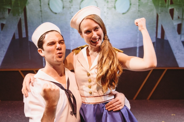 Photo Flash: First Look at Ian Taylor, Jordan Donica, Erin Ullman and More in Otterbein's DAMES AT SEA