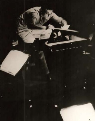 Maazel at 1960 Germany Bayreuth Festival