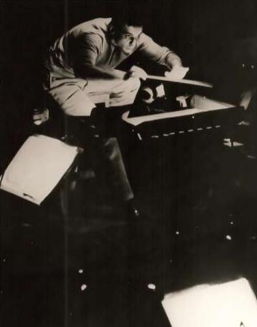 Maazel at 1960 Germany Bayreuth Festival