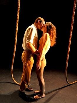 David Viviers and Emma Kotze in SALT