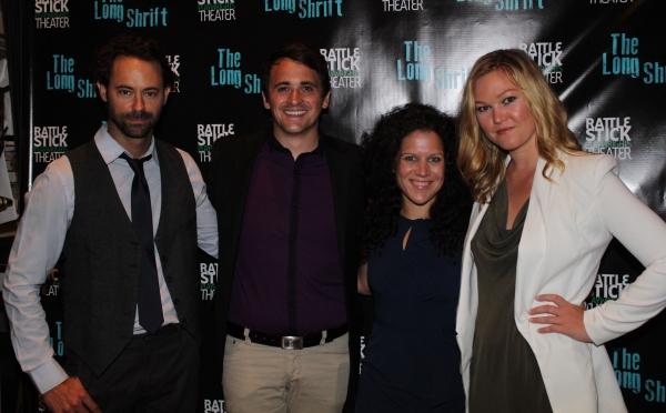 James Wirt, Rian Durham, Jennifer DeLia and  Julia Stiles