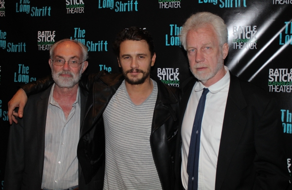 David Van Asselt, James Franco and Robert Boswell