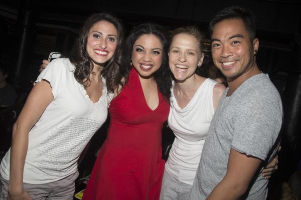 Natalie Cortez, Maria-Christina Oliveras, Anika Larsen, Enrico Rodriguez Photo