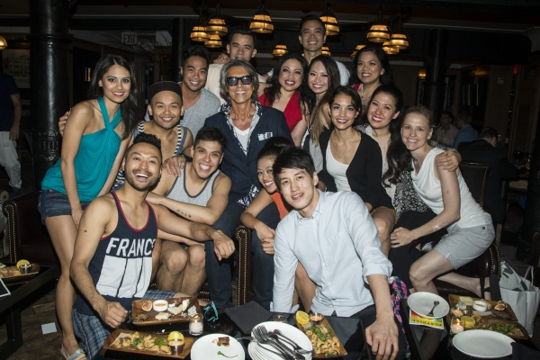Tommy Tune & HERE LIES LOVE Cast