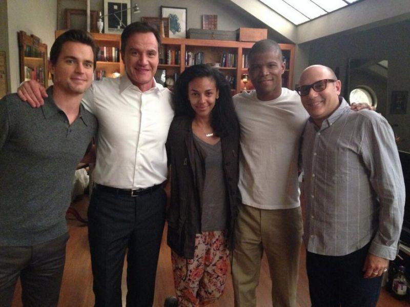 Photo: WHITE COLLAR's Matt Bomer Shares Start of Season 6 Filming on Twitter