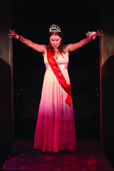 Emily Zickler as Carrie White Photo