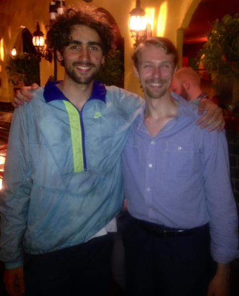 Nico Fernandez and Michael Mulhearn