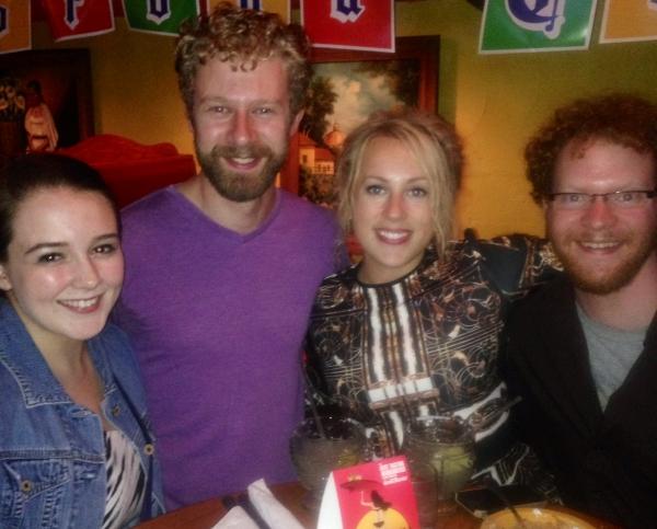 Sara Costello, Fred Geyer, Caroline Kingsley and Steve Peebles Photo