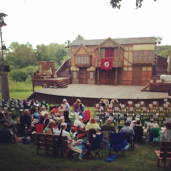 Photo Flash: First Folio Celebrates MERRY WIVES OF WINDSOR Opening