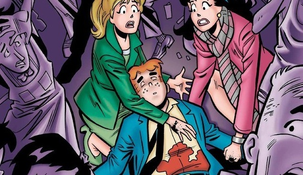 First Look - Beloved Comic Character Archie Andrews Takes Bullet for Gay Best Friend