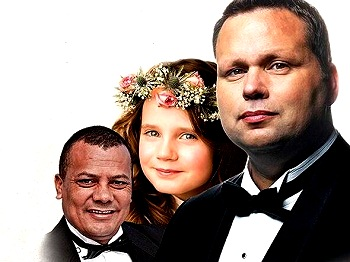 James Bhemgee, Amira Willighagen and Paul Potts