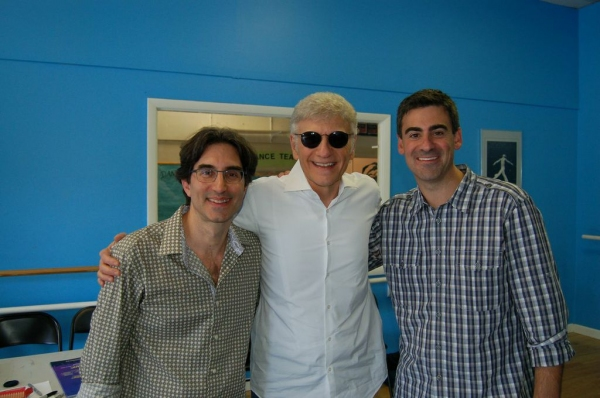 Michael Unger, Dennis DeYoung, Michael Baroody Photo