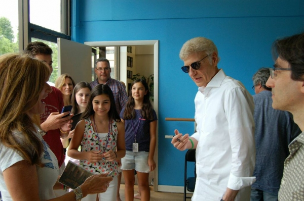 Dennis DeYoung, Michael Unger, and Cast