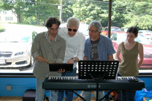 Michael Unger, Dennis DeYoung, Jeffrey Saver, Sarah Jane Schostack Photo
