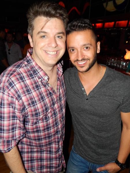 Jai Rodriguez with Kurt Koehler, director, writer, co-creator Photo