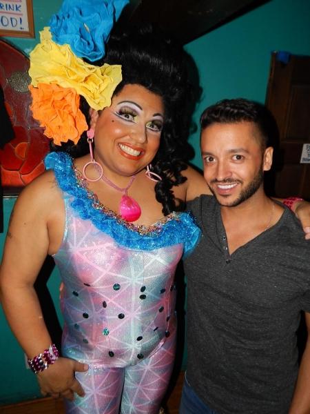 Jai Rodriquez with Kay Sedia