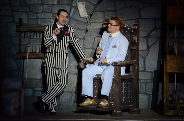 Photo Flash: First Look at Rob McClure, Jenny Powers and More in The Muny's ADDAMS FAMILY