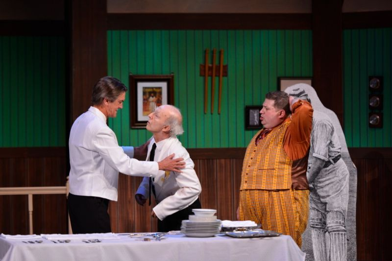 BWW Reviews: GA Shakespeare's ONE MAN, TWO GUVNORS is as Good as a Summer Comedy Gets