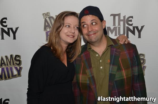 Steve Rosen with Castmate