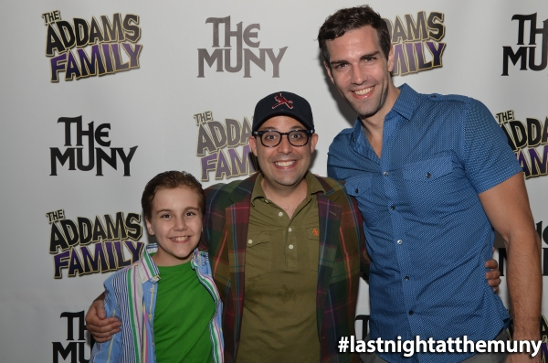 Photo Flash: Rob McClure, Jenny Powers at More at Opening Night of THE ADDAMS FAMILY at The MUNY