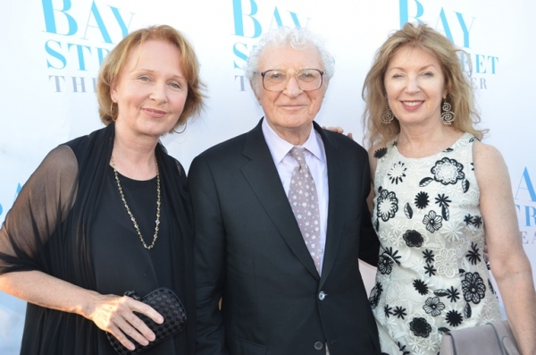Kate Burton, Sheldon Harnick and April Gornik