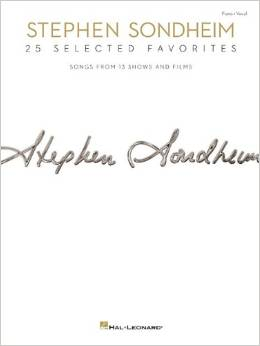 STEPHEN SONDHEIM: 25 SELECTED FAVORITES Sheet Music Now Available For Pre-Order, Out 8/25