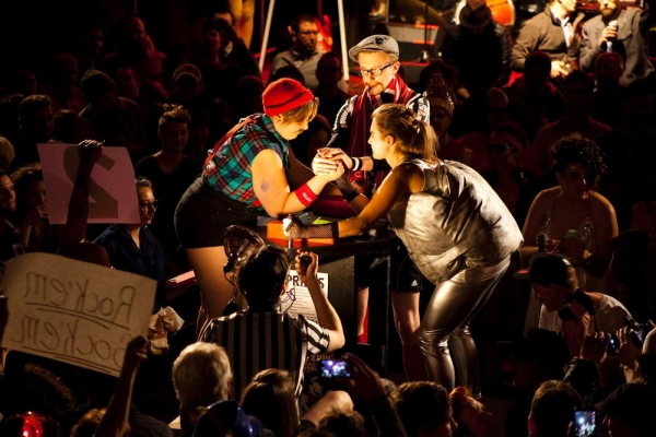 Photo Flash: Sneak Peek - Chicago League of Lady Arm Wrestlers Hosts CLLAW XIX Match Tonight